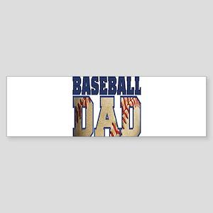 baseball dad Bumper Sticker