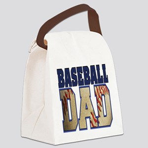 baseball dad Canvas Lunch Bag