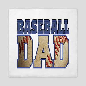baseball dad Queen Duvet