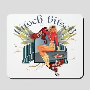 Kitsch Bitsch Fly Girl Mousepad