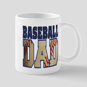 baseball dad Mugs