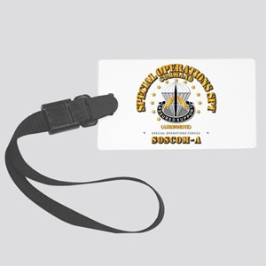 SOSCOM - Airborne Large Luggage Tag
