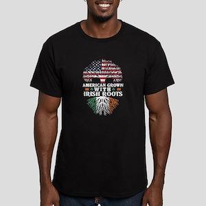 American Grown with Irish Roots Shirt T-Shirt