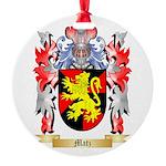 Matz Round Ornament