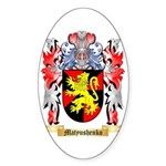Matyushenko Sticker (Oval 50 pk)