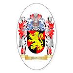 Mattucci Sticker (Oval 10 pk)