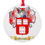 Mattson Round Ornament