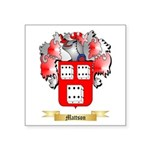 Mattson Square Sticker 3