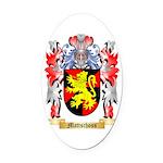 Mattschoss Oval Car Magnet