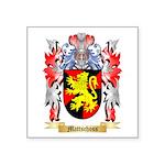 Mattschoss Square Sticker 3