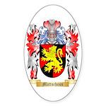 Mattschoss Sticker (Oval 50 pk)