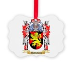 Mattschoss Picture Ornament