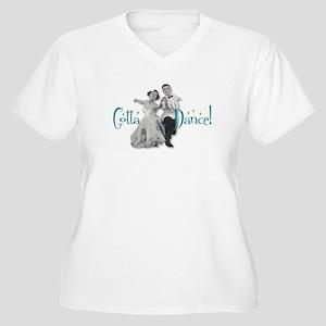 Gotta Dance! Women's Plus Size V-Neck T-Shirt