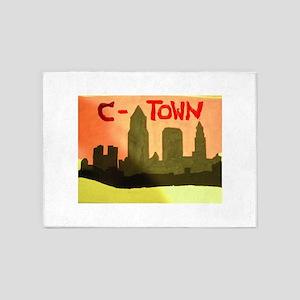 ctown 5'x7'Area Rug