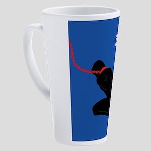 iserve-male 17 oz Latte Mug