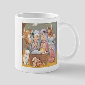 baby jesus cartoon Mugs