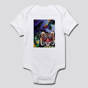 Glitzy Wildlife Infant Bodysuit