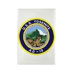 USS Yosemite (AD 19) Rectangle Magnet (100 pack)