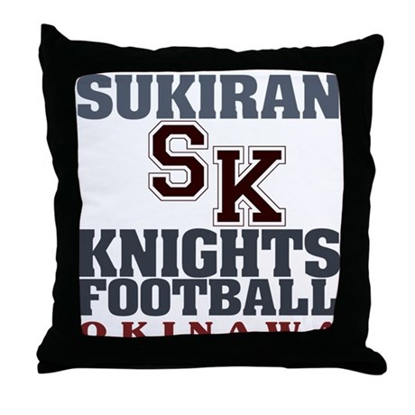 Sukiran Knights Throw Pillow