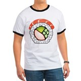 Pescetarian Ringer T-shirts