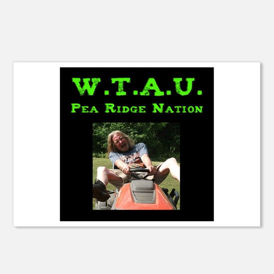 W.T.A.U. Tractor Postcards (Package of 8)