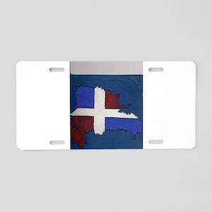 DR Aluminum License Plate