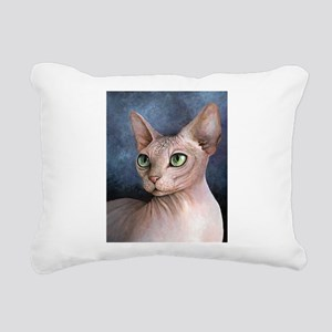 Cat 578 Rectangular Canvas Pillow
