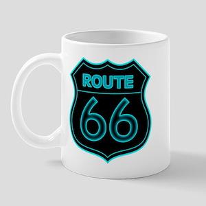 Route 66 Neon - Teal Mug