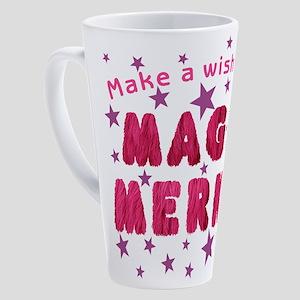 Wish On My Magic Merkin 17 oz Latte Mug