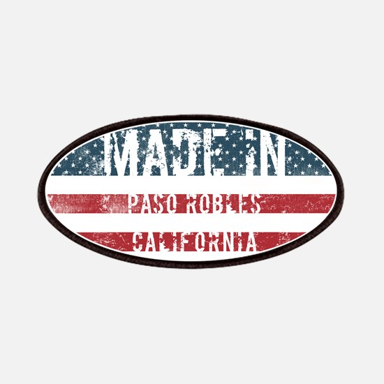 Made in Paso Robles, California Patch