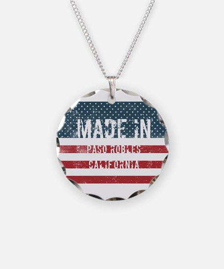 Made in Paso Robles, Califor Necklace