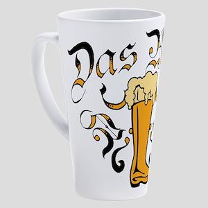 Das Boot Of Beer 17 oz Latte Mug