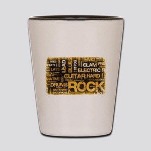 Rock Music Party Shot Glass