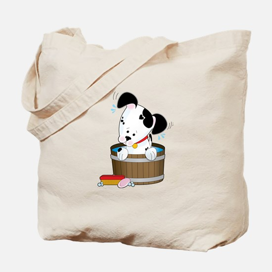 Doggie Bath Tote Bag