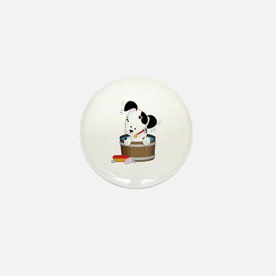 Doggie Bath Mini Button
