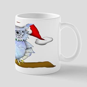 Snowy Holiday Owl Mug