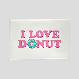 I Love Donut Magnets