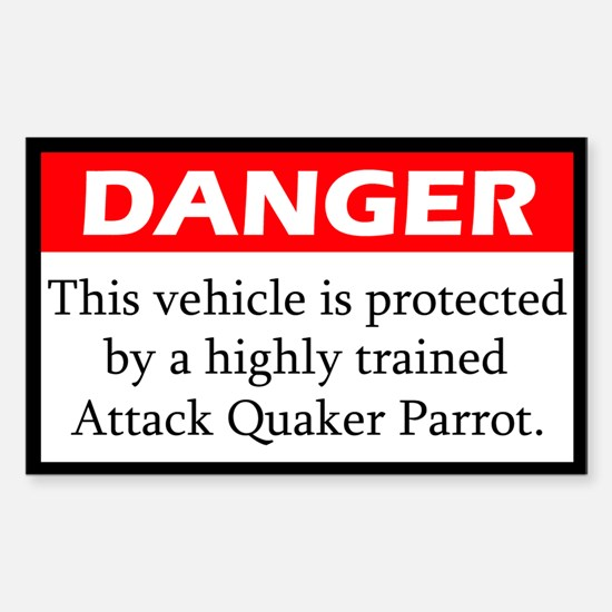 Attack Quaker Parrot Decal
