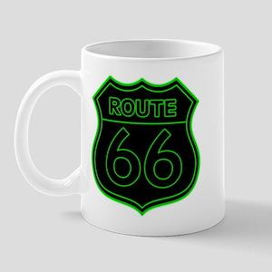 Route 66 Neon - Green Mug