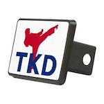Taekwondo Rectangular Hitch Cover
