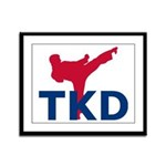 Taekwondo Framed Panel Print