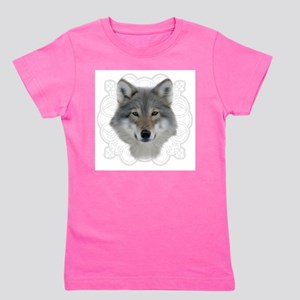 Wolf with Saxon Motif T-Shirt
