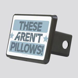 These Aren't Pillows - Blu Rectangular Hitch Cover