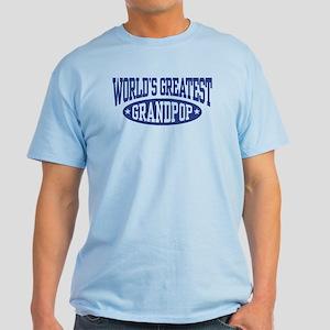 World's Greatest Grandpop Light T-Shirt