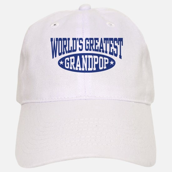 World's Greatest Grandpop Baseball Baseball Cap