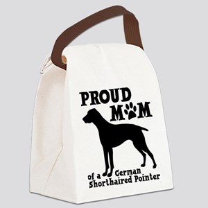 POINTER MOM Canvas Lunch Bag