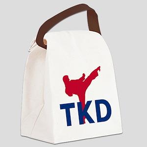 Taekwondo Canvas Lunch Bag