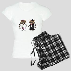 Raccoon Wedding Pajamas