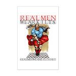 Kilted Guy a la Monroe... Mini Poster Print