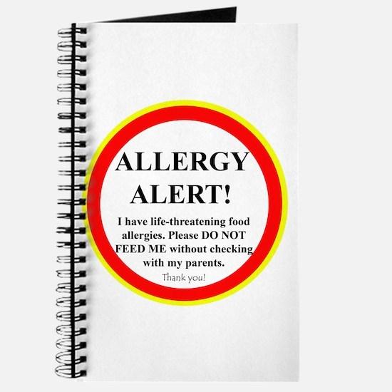 Cute Allergy Journal